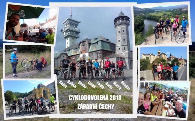 Cyklodovolená 2018